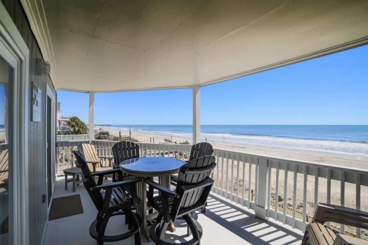 This is the view you and your family will enjoy, this isn't a model unit. - Lighthouse II Unit 1 - Surfside Beach - rentals