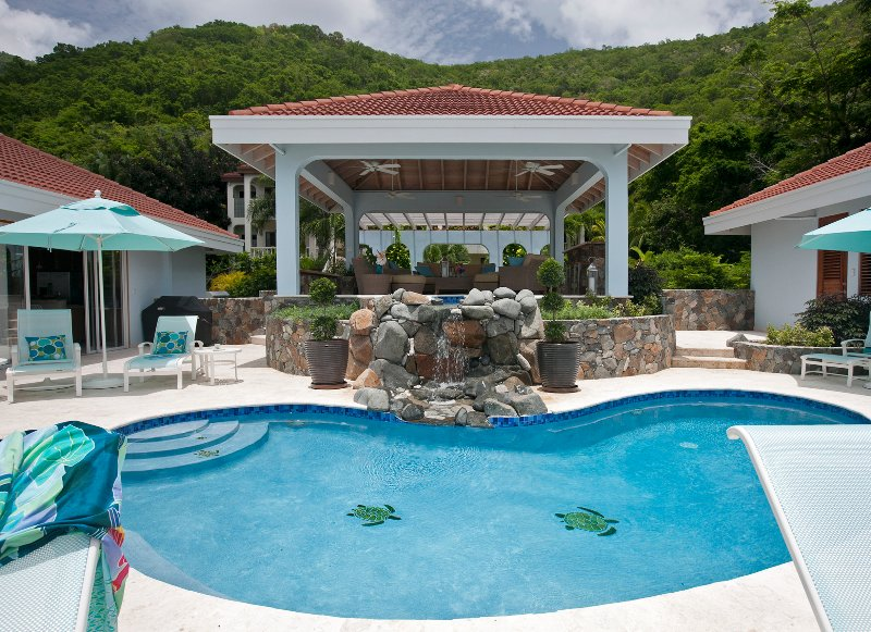 Blue Lagoon - Ideal for Couples and Families, Beautiful Pool and Beach - Image 1 - Virgin Gorda - rentals