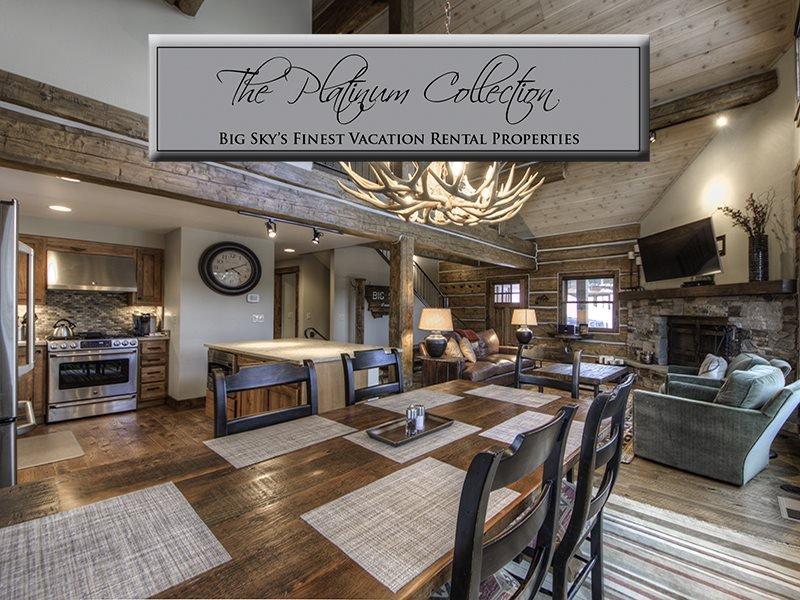 Big Sky Resort | Powder Ridge Cabin 12 Oglala - Image 1 - Big Sky - rentals