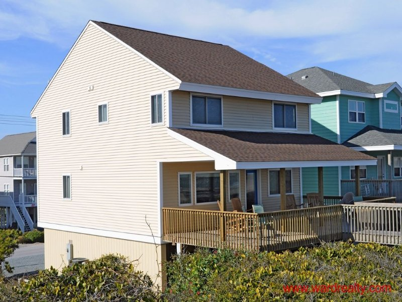 Oceanfront Exterior - Southern Aire - Surf City - rentals