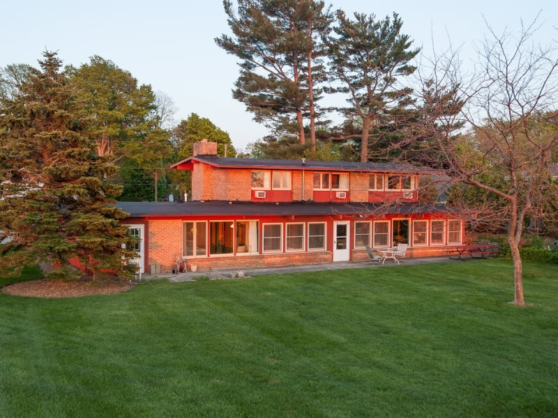 McGuire House - Lakefront with Private Beach - Image 1 - South Haven - rentals