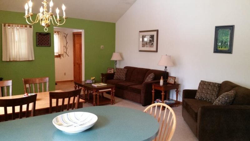 Stowe Village Condo - Bring the kids to this cozy 1BR in Downtown Stowe! - Image 1 - Stowe - rentals
