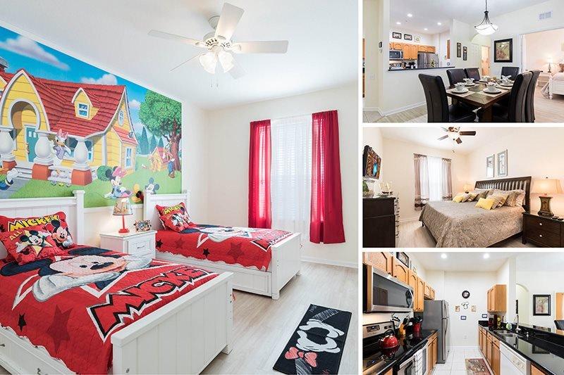 Fantasmic | Top Floor Condo, Located in Bldg 6 with New Flooring, & Fun Mickey - Image 1 - Four Corners - rentals