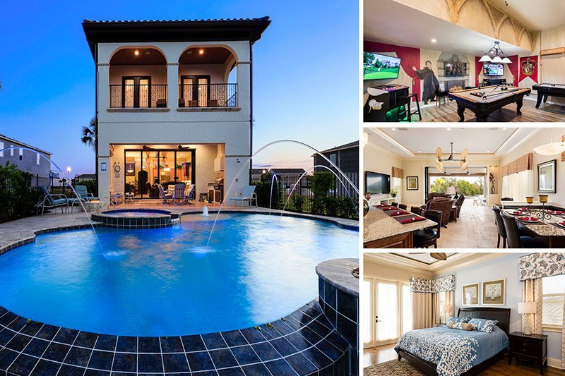Infinity Luxury | Luxury Villa with Infinity Pool, Water Fountains, Summer Kitchen & Gas Fire Pit - Image 1 - Kissimmee - rentals