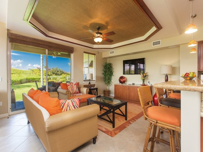 Waikoloa Beach Villas Unit A1. Includes Waikoloa Golf Membership Benefits - Image 1 - Iola - rentals