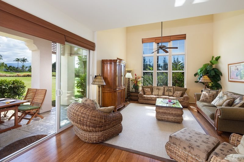 Waikoloa Colony Villas 1202. Stunning townhome on the golf course! - Image 1 - Waikoloa - rentals