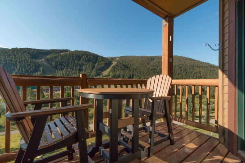 Tenderfoot Lodge 2673 - Walk to slopes, outdoor hot tubs with views - Image 1 - Keystone - rentals