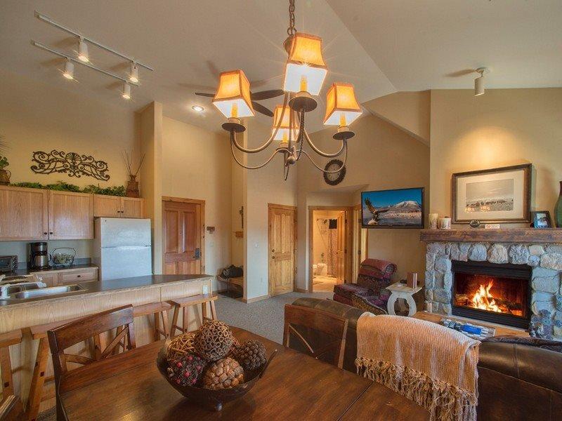 Dakota Lodge 8538 - Sleeps 7, 5th floor, vaulted ceilings! - Image 1 - Keystone - rentals