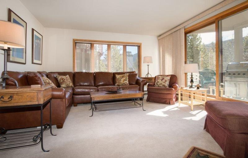 Ski Run Condominiums 401 - New furniture, walk to slopes, ski area views, pool - Image 1 - Keystone - rentals