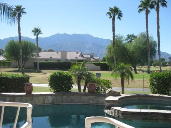 GORGEOUS THREE BEDROOM VILLA WITH PRIVATE POOL & SPECTACULAR VIEWS ON W - Image 1 - Cathedral City - rentals