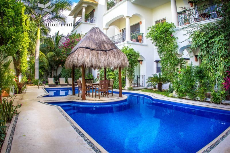 Beautiful 1 Bedroom Property with Fantastic Pool by 5th Avenue and Beaches - Image 1 - Riviera Maya - rentals
