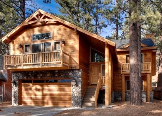 V50-Beautiful, new Tahoe home just a block to the Lake with a private hot tub - Image 1 - South Lake Tahoe - rentals