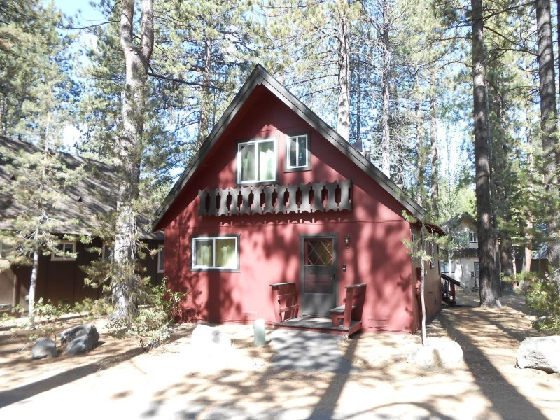2323S-Nice cabin in the Pines, 3 bedroom sleeps up to eight - Image 1 - South Lake Tahoe - rentals