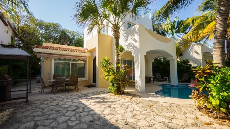 4 Bedroom Home right off of the Caribbean Ocean - Image 1 - Playa del Carmen - rentals