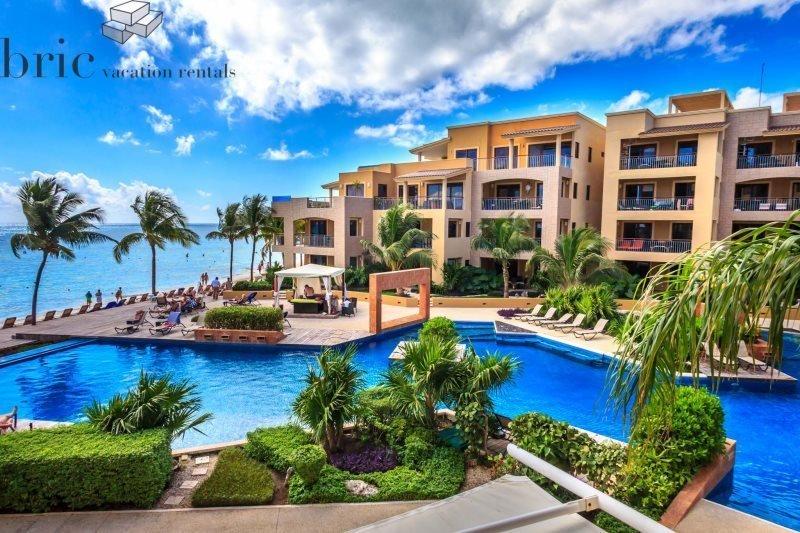 Ocean Front - Pool Front - Beach View Luxury Home - Image 1 - Riviera Maya - rentals