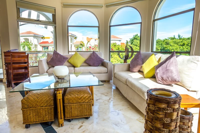 Fantastic Penthouse unit with panoramic views of the pool and garden areas - Image 1 - Playa del Carmen - rentals