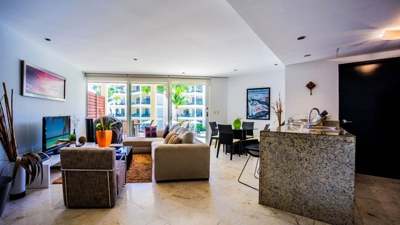 2nd floor, ocean view condo at The Elements - Image 1 - Riviera Maya - rentals