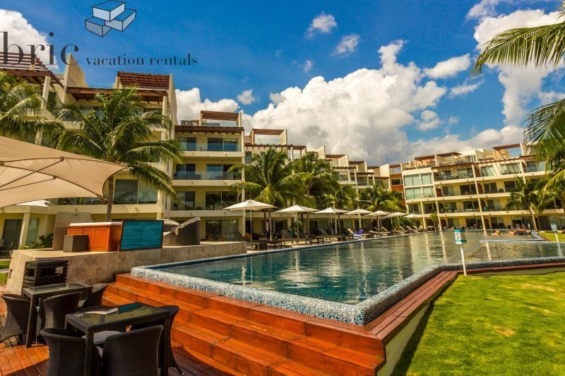 Great Beach and Ocean Views from this 2 Bedroom Home at The Elements - Image 1 - Riviera Maya - rentals