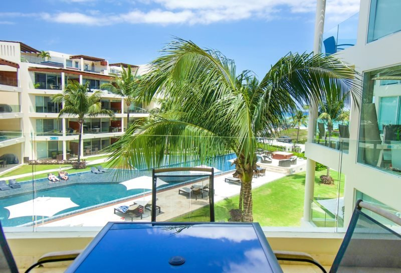 3rd Floor home overlooking the Ocean and Beaches at The Elements - Image 1 - Riviera Maya - rentals