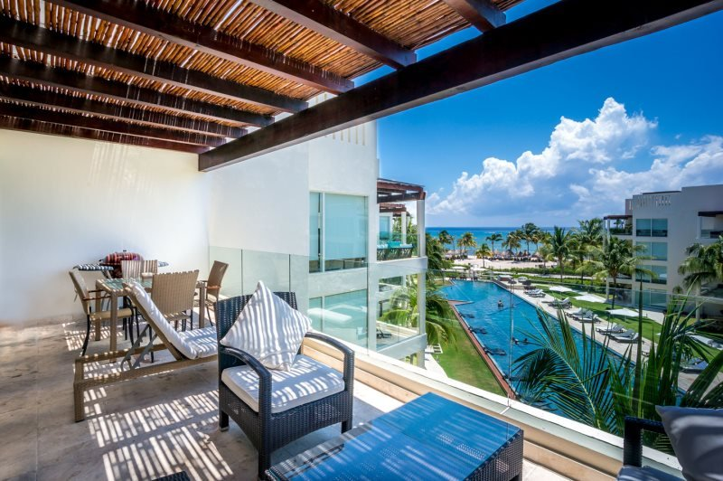 Ocean View Penthouse at The Elements PH 14 - Image 1 - Riviera Maya - rentals