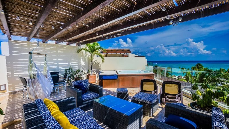 Ocean View Penthouse at The Elements PH 18 - Image 1 - Riviera Maya - rentals