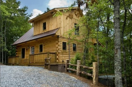 Stargazer at Deep Creek - Secluded Log Cabin with Hot Tub and Wi-Fi - Minutes - Image 1 - Bryson City - rentals