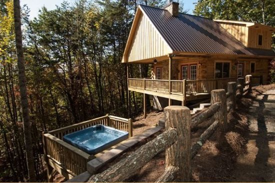 Moonstruck at Deep Creek - Mountainside Cabin with Hot Tub and Wi-Fi - Minutes - Image 1 - Bryson City - rentals