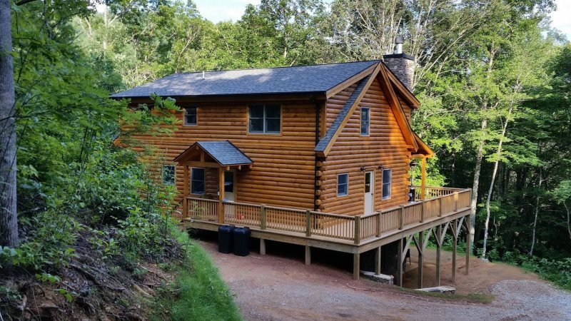 The Scratching Post - Upscale Cabin with Hot Tub, Fire Pit, Internet, and Dry - Image 1 - Almond - rentals