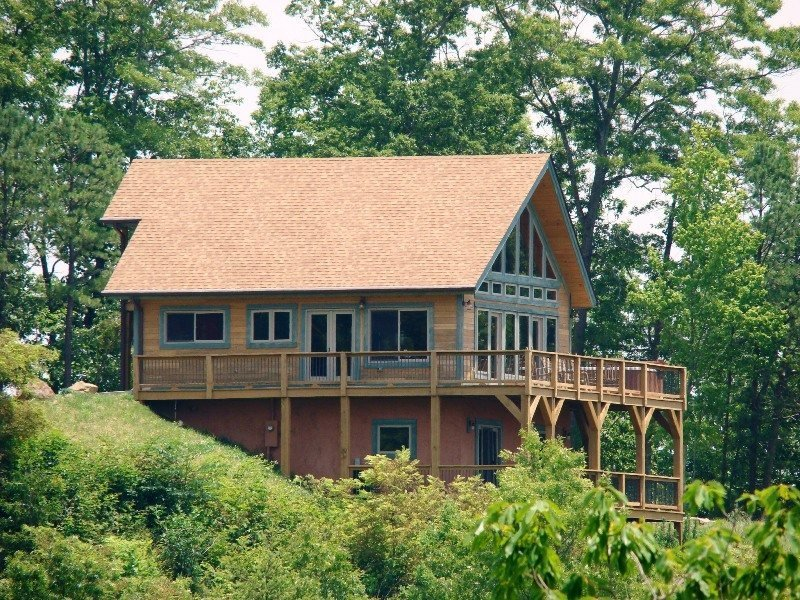 High Haven Cabin - Large Mountainside Rental with an Unforgettable View, Wi-Fi - Image 1 - Bryson City - rentals