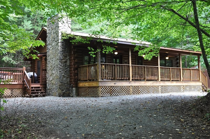Shady Grove - Secluded Mountain Cabin with Hot Tub and Fire Pit - Less than 15 - Image 1 - Whittier - rentals