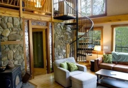 Laurel Branch - Secluded Cabin on a Hillside - Fire Pit, Hot Tub, and Foosball - Image 1 - Bryson City - rentals