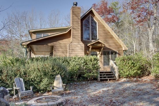SERENITY--SECLUDED 2BR/2BA CABIN WITH BREATHTAKING MOUNTAIN VIEWS, KING SIZED - Image 1 - Blue Ridge - rentals