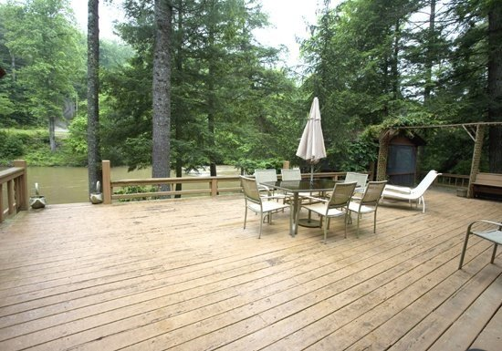 RIVERDANCE-- 3BR/2BA CABIN ON THE TOCCOA RIVER, GAZEBO OVERLOOKING THE TOCCOA - Image 1 - Blue Ridge - rentals