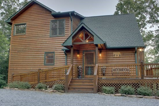 MOUNTAIN TOPS SERENITY--3 BR/3 BA, SPECTACULAR MTN VIEW, WI-FI, LARGE HOT TUB - Image 1 - Blue Ridge - rentals