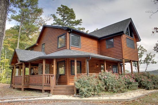 LONESOME DOVE-3BR/3BA-WESTERN THEMED CABIN, MOUNTAIN VIEW, GAS GRILL, WIFI - Image 1 - Blue Ridge - rentals