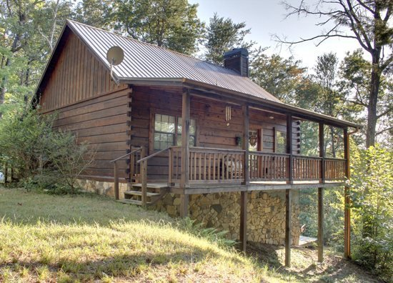 A BEAR PAUSE- 3BR/2BA- CABIN SLEEPS 11, SECLUDED, HOT TUB, SCREENED PORCH, POOL - Image 1 - Mineral Bluff - rentals