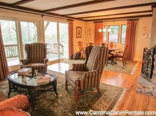 Elegant 3BR in Hound Ears Community with Open Living Area, Lots of Natural - Image 1 - Boone - rentals