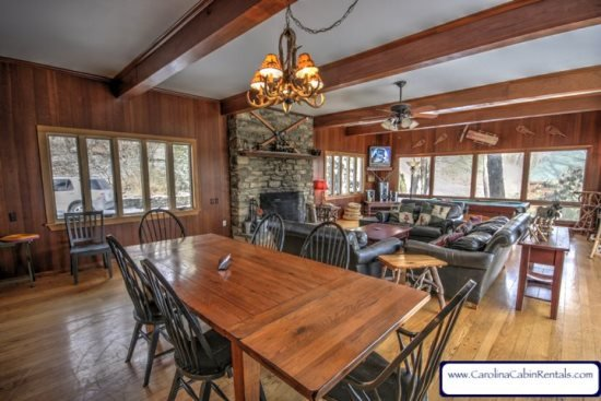 4BR Mountain Getaway with Hot Tub, Pool Table, Open Floor Plan, Just Off the - Image 1 - Blowing Rock - rentals