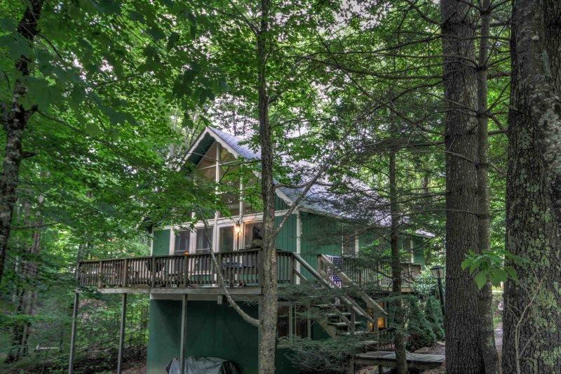 4BR on Beech Mountain, Sleeps 8, Fireplace, Close to Ski Slopes, Club - Image 1 - Beech Mountain - rentals