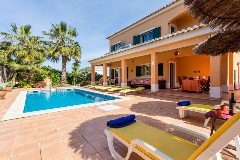 Rent  Abilio´s Charming Villa near Alvor 8 people with a private ligthed pool. - Image 1 - Alvor - rentals