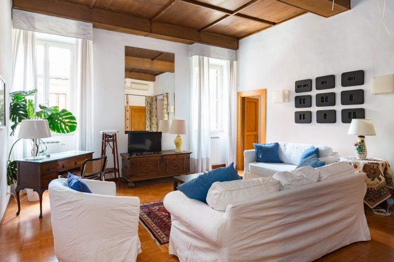 Perfect Location- Super Spanish Steps Area-Terrace-Teodora - Image 1 - Rome - rentals