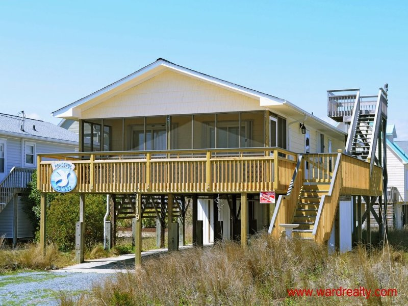 Peaceful Cottage - Peaceful Cottage - Surf City - rentals
