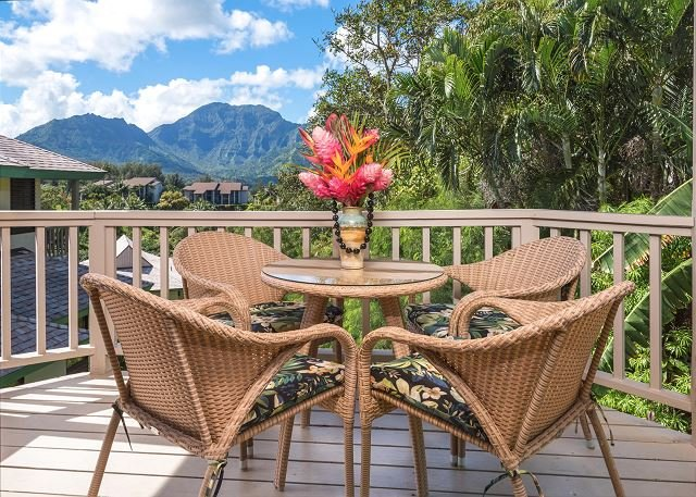 Amazing Views Mountain, Free Standing, Fully Upgraded Villa!  10% off May - Image 1 - Princeville - rentals