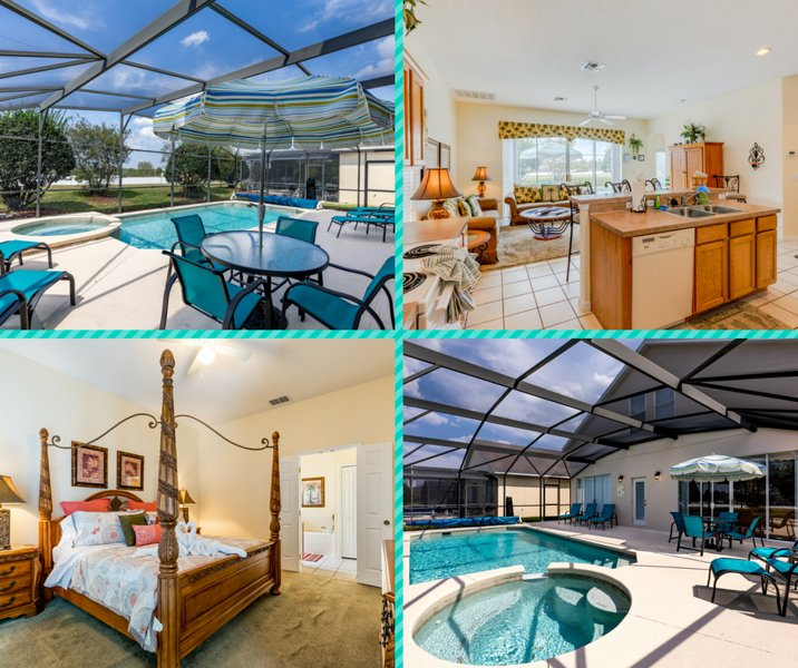 Overview of Home - Morning Star Villa - Tropical Retreat near Disney! - Clermont - rentals