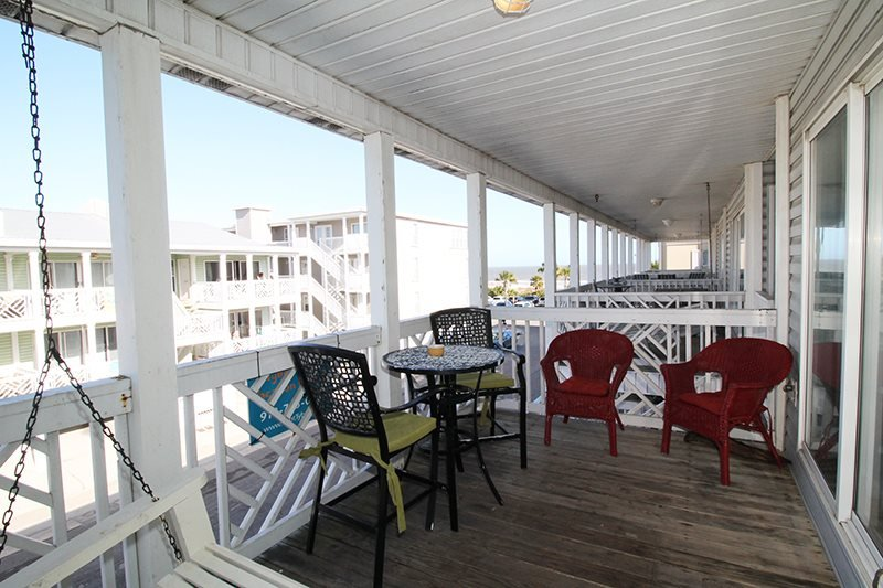 South Beach Ocean Condos, South - Unit 8 - Just Steps to the beach - Ocean View FREE Wi-Fi - Image 1 - Tybee Island - rentals