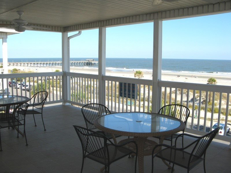 Porpoise Point Condominiums - Unit 5 - Panoramic Oceanfront View- FREE Wi-Fi - Image 1 - Tybee Island - rentals