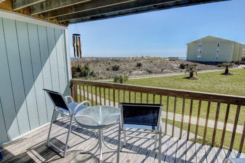 Balcony - Surf Condo 715 - Surf City - rentals