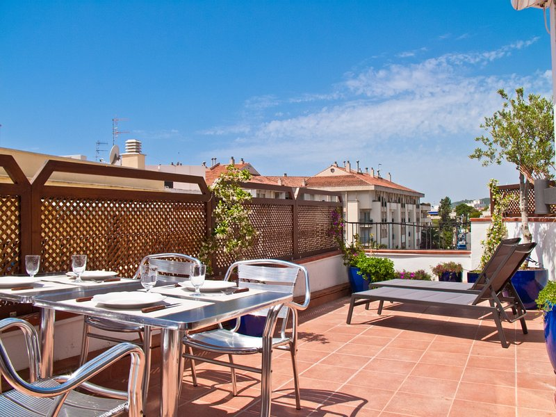 Great private terrace in Sitges. - Image 1 - World - rentals