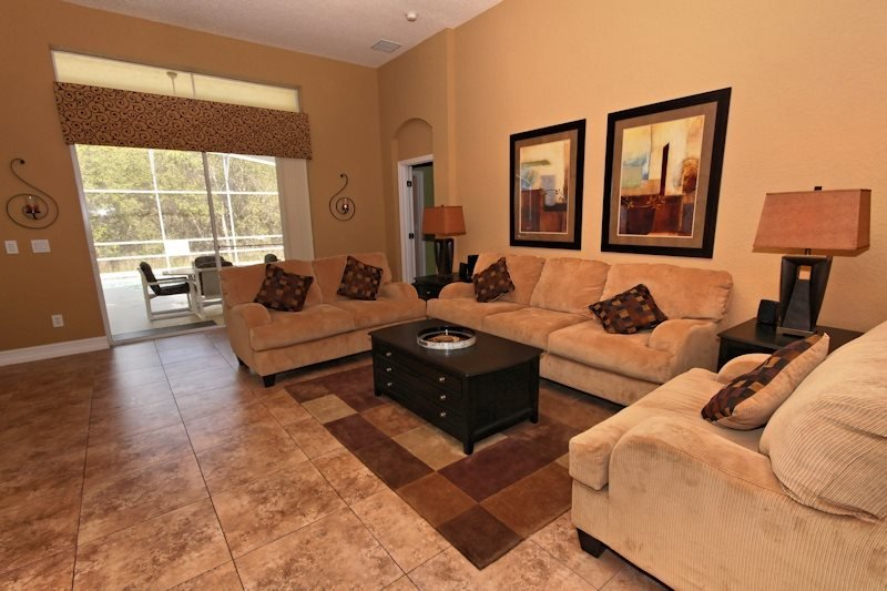 4 Bed 3 Bath Pool Home With Lovely View. 1720NHD. - Image 1 - Orlando - rentals