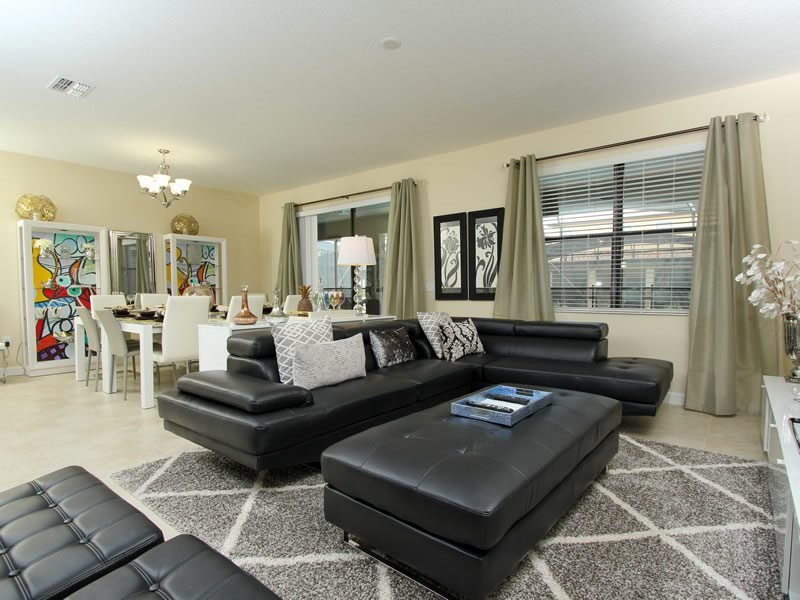 Modern 9 Bed 5 Bath Home in Champions Gate that Sleeps 19. 1429WW - Image 1 - Orlando - rentals
